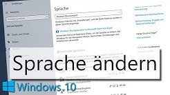 Windows 10 Sprache ändern: So ändert ihr die Anzeigesprache in Windows 10