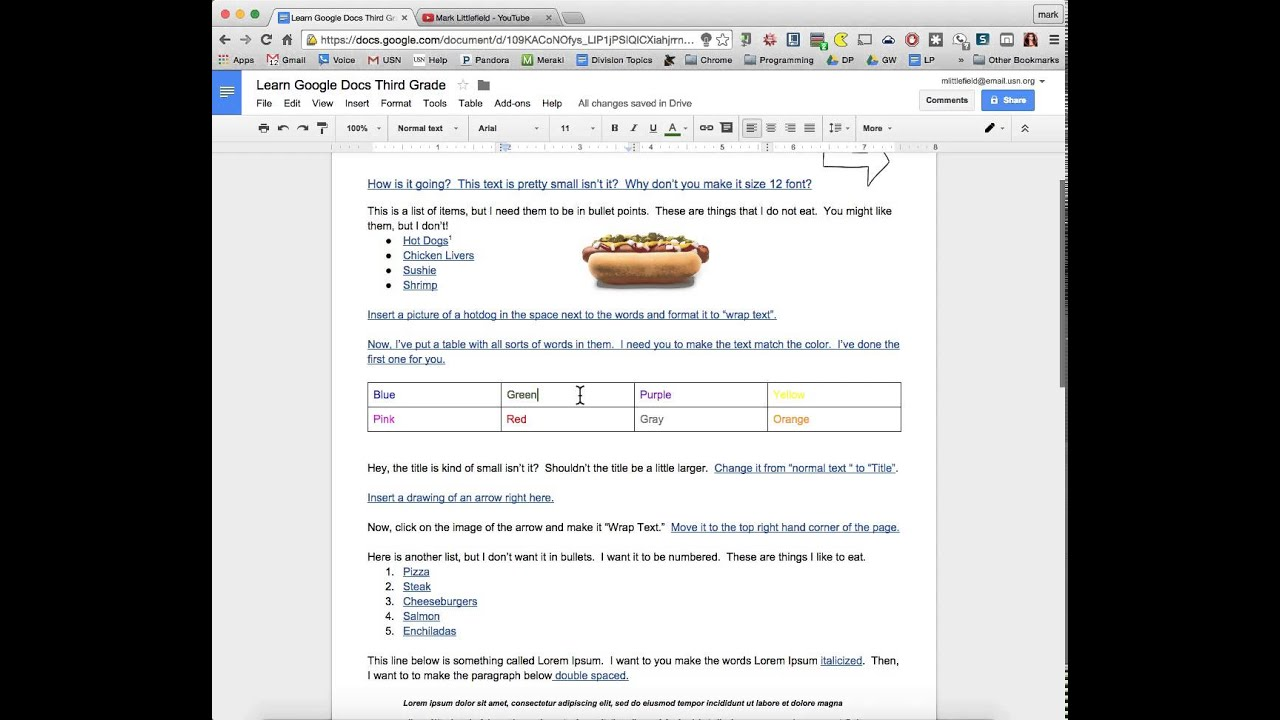 Delete A Table Google Docs   YouTube  How To Make A Resume In Google Docs