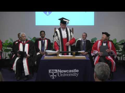Newcastle University Medicine Malaysia Congregations 2015
