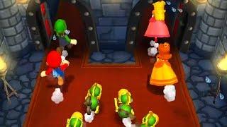 Mario Party 9 - Minigames - Mario vs Peach vs Luigi vs Daisy (Master CPU)