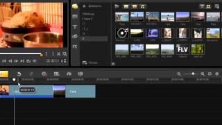 Уроки Корел. Corel VideoStudio X4. Урок 2. Рабочая область. Хорошее качество видео уроки для начинаю
