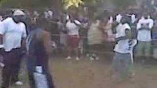 Eastside Backyard Brawl K.Y.A. vs. Mystery Man Round 1