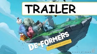 DEFORMERS Official Trailer 2016 PS4, Xbox One, PC 2017