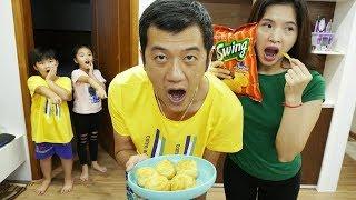 Kitty Tv | Hoạt Cảnh Cho Bé | Johny Johny Yes Papa Phiên Bản Bố Mẹ| Bài Hát Cho