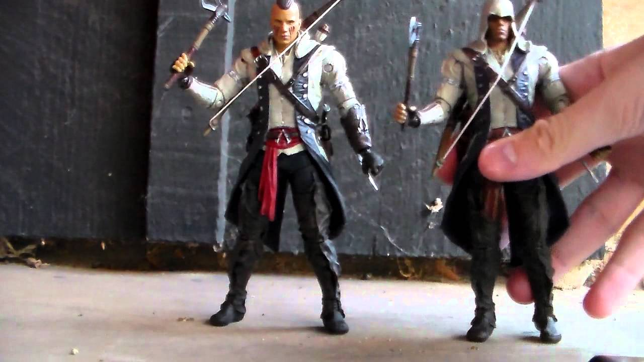Assassins Creed Iii Connor With Mohawk Action Figure Review By Mcfarlane Toys Youtube