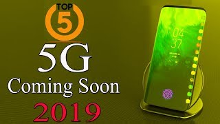 Gambar cover Top 5 ! 5G Mobiles Upcoming 2019 ! Launch Date with Full Specifications