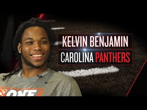 Kelvin Benjamin on Panthers role, Cam Newton, moving to Charlotte (2014 NFLPA Rookie Premiere)