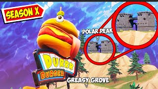 Greasy Grove just started to MELT!! - Fortnite Season X