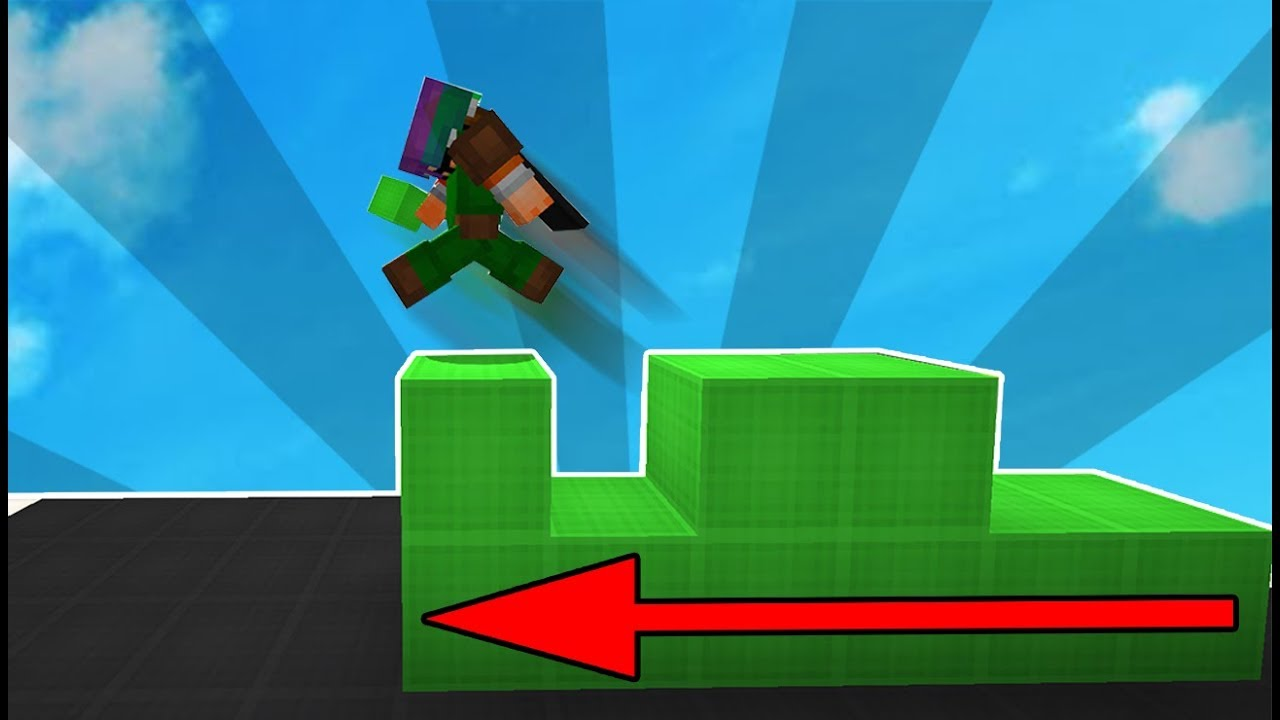 Why Bedwars Players place blocks while they are running