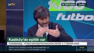Rıdvan Dilmen'den penaltı ve kırmızı kart yorumu! (% 100 Futbol 16 Şubat 2019)