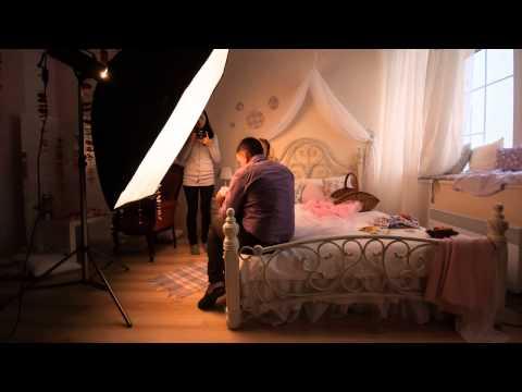 Малышка София и компания в фотостудии Прованс