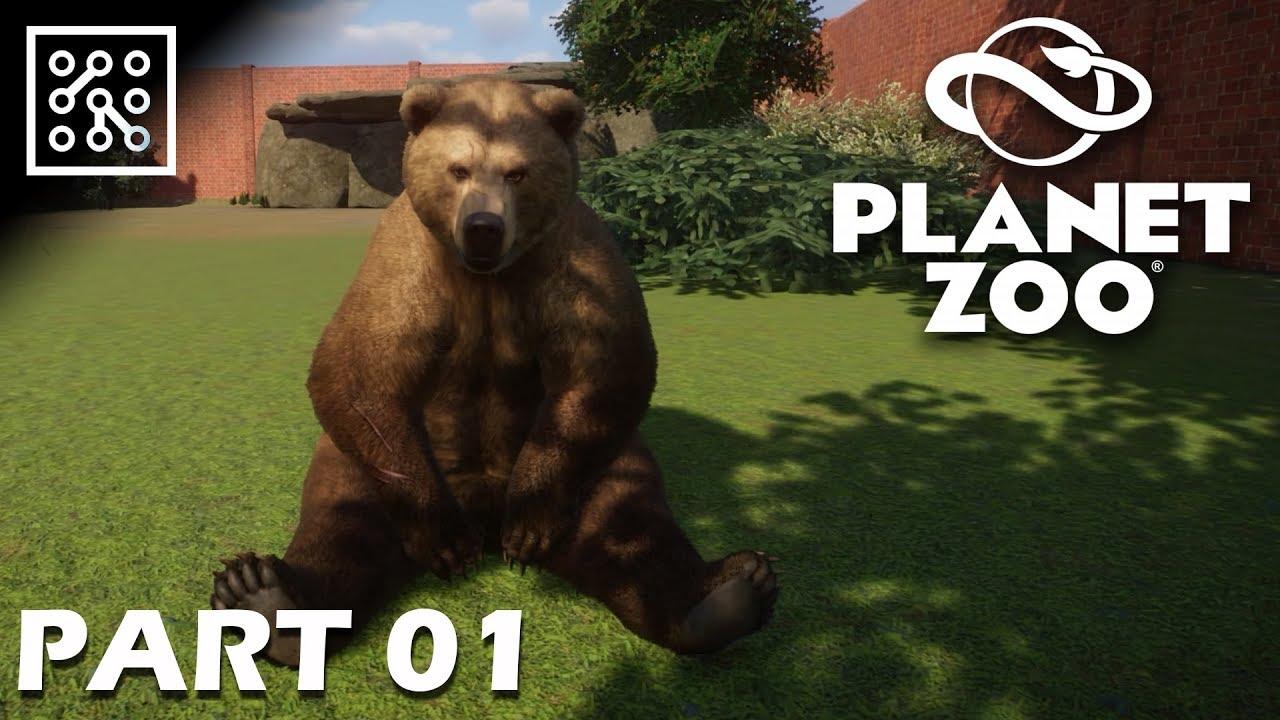 Přehled všech zvířat | Planet ZOO CZ  - Part 01 | Lets play | Česky