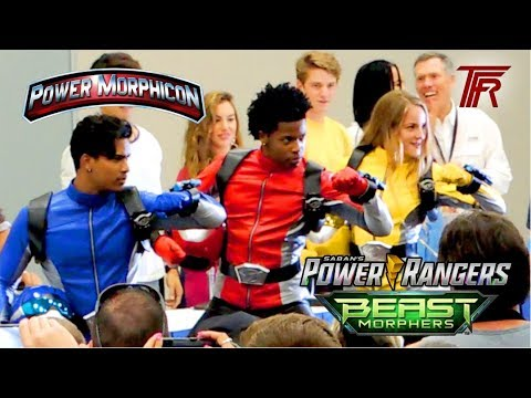 New Power Rangers Cast 2019 Power Rangers Beast Morphers 2019 Cast Revealed at Power Morphicon