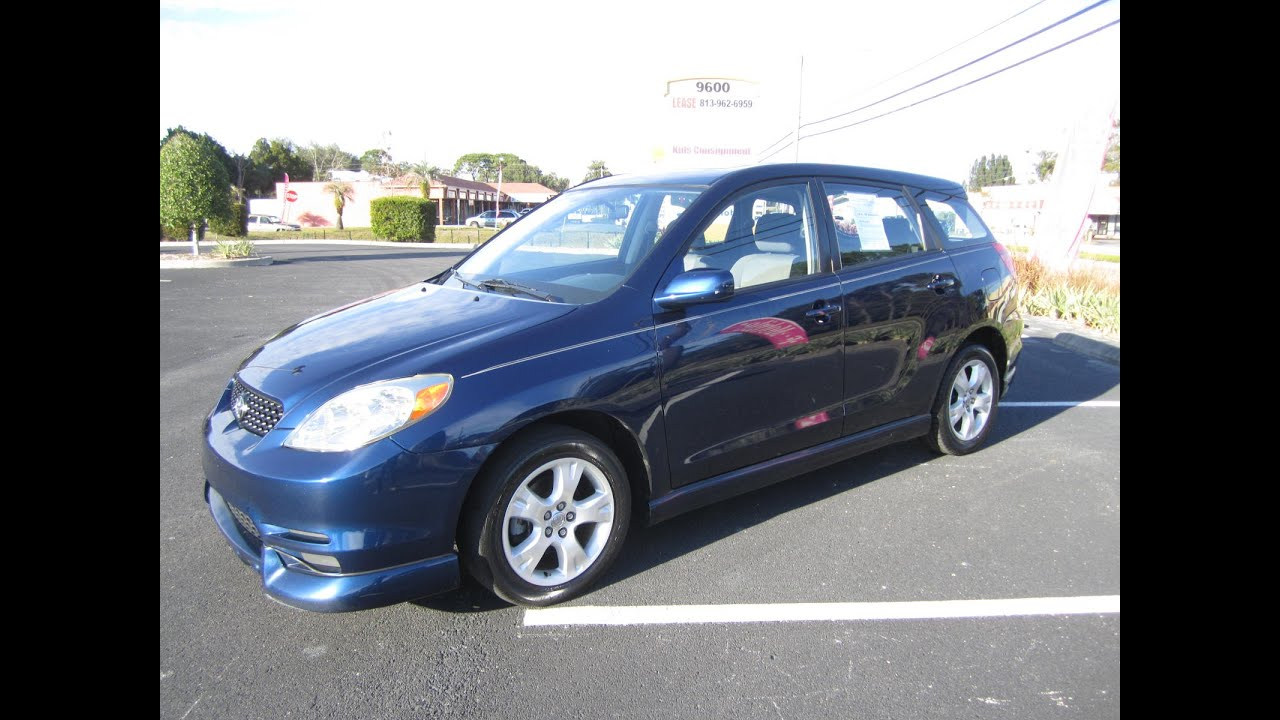sold 2003 toyota matrix xr vvt i two owner meticulous. Black Bedroom Furniture Sets. Home Design Ideas
