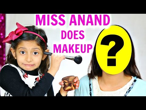 Meet 7 Year Old Makeup Artist - ft. MyMissAnand   ShrutiArjunAnand