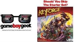 Keyforge Starter Set - Should You Skip it? With the Game Boy Geek