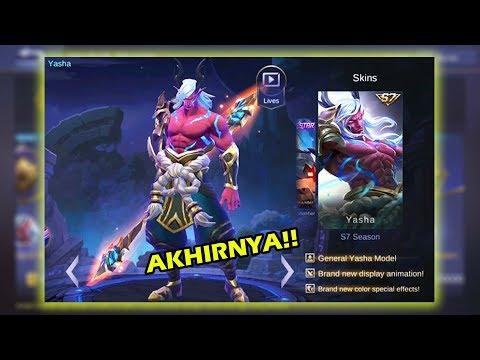 NEW SKIN SEASON 7 MOSKOV ( YASHA ) !! Mobile Legend Indonesia #43