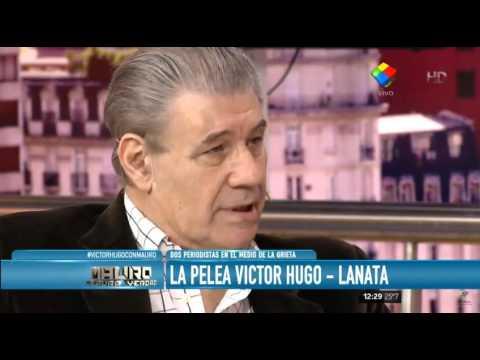 """Víctor Hugo: """"No recibí pauta y Lanata sí"""""""