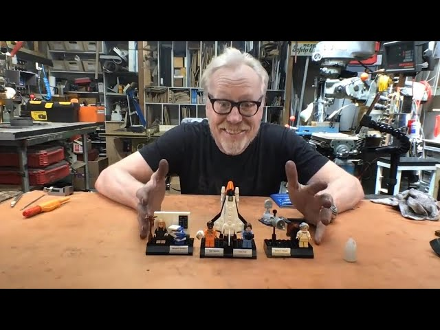 Adam Savage's Live Builds: LEGO Women of NASA!
