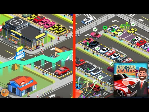 Idle Used Car Dealer - Walkthrough Part 1 Gameplay (iOS - Android)