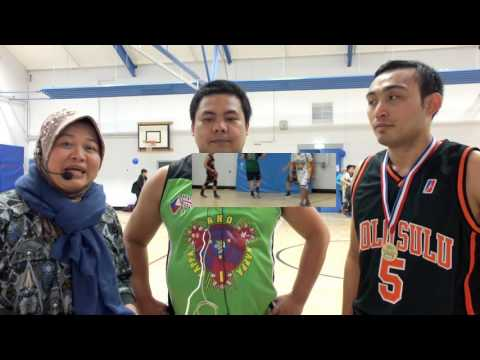 HIGHLIGHTS: Team Coach & Best Player courtside interview JOLO SULU vs DUKE OF LONDON