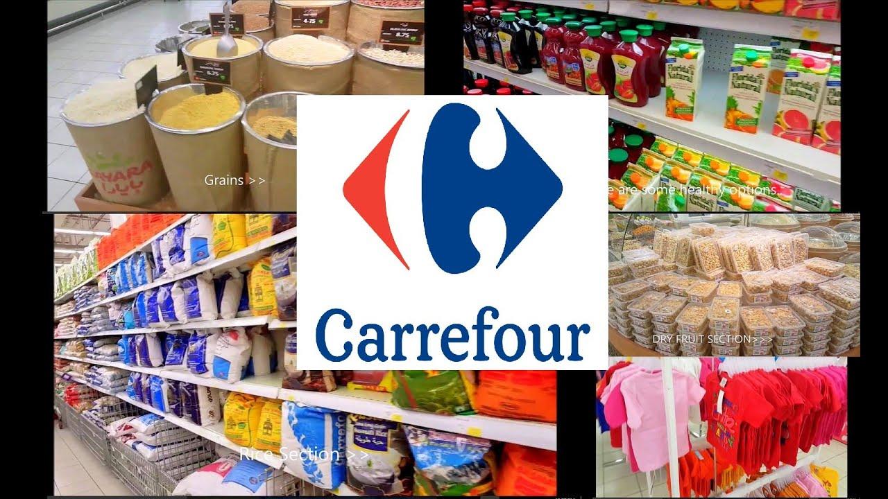 Carrefour Grocery Shopping Dalma Mall Mussafah Abu Dhabi I