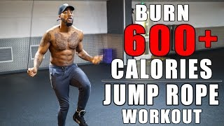 Burn 600 Calories In 30 Minutes With Jump Rope