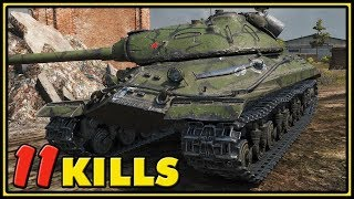 Object 257 - 11 Kills - 1 vs 5 - World of Tanks Gameplay