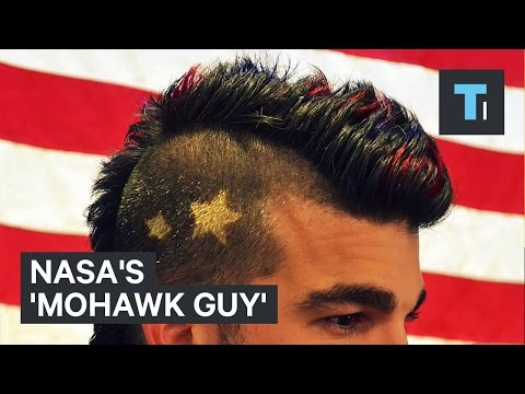 NASA's 'Mohawk Guy'