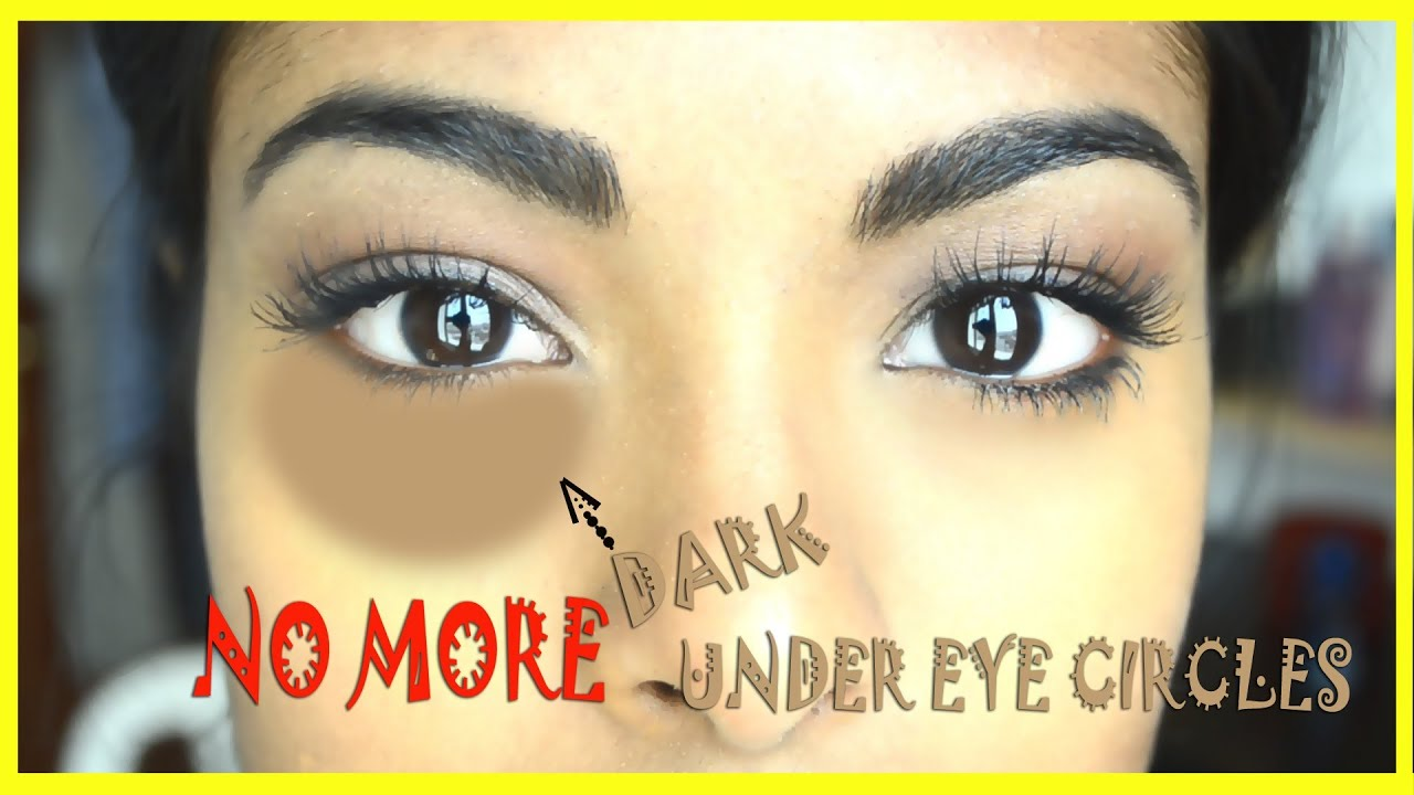 How to conceal dark under eye circles + Special trick - YouTube