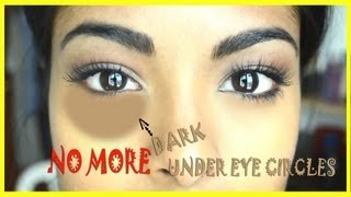 How to conceal dark under eye circles + Special trick