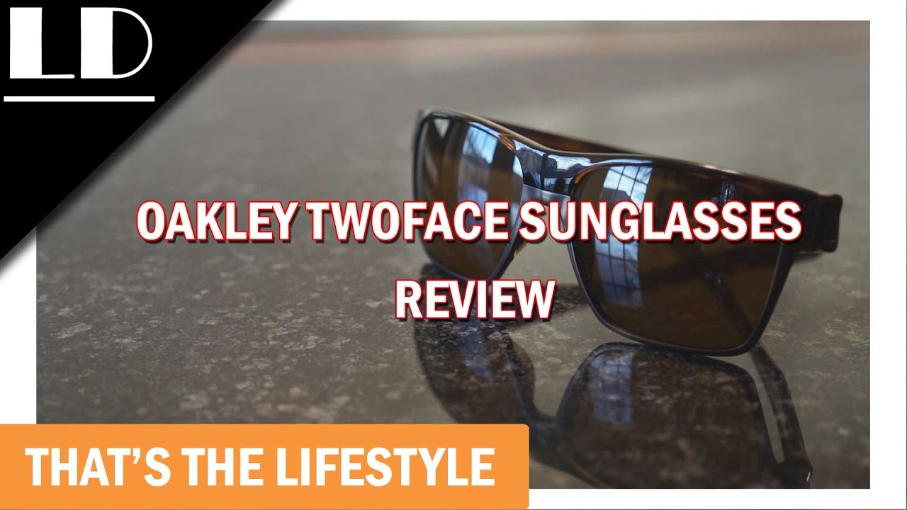 60652a605f5 Oakley twoface sunglasses review - YouTube