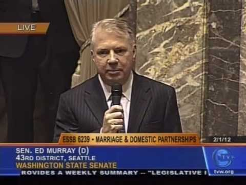 Washington State Senate Vote on Marriage Equality Bill