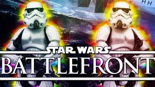 Star Wars Battlefront Launch Funny Moments!  - Scary Missile Attack!