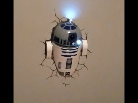 Lightfx Star Wars R2 D2 Wall Light