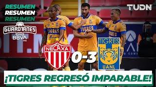 Resumen y goles | Necaxa 0-3 Tigres | Guard1anes 2020 Liga BBVA MX - J1 | TUDN