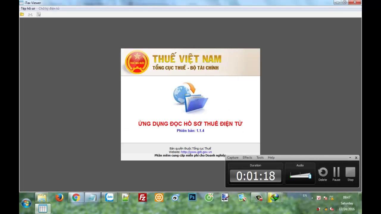 Cài đặt (install) ứng dụng iTaxviewer 1.1.4 – ITaxviewer mới nhất – LH 0932 780 176