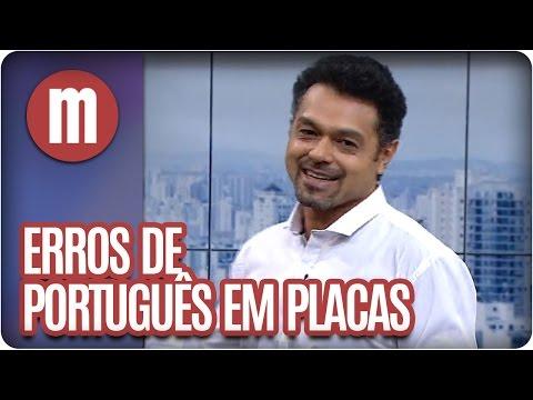 Mulheres - Erros De Português (14/04/16)