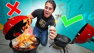 DON'T Light It On Fire Challenge!