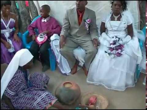 INDILENI KAMATI (KATULI) & JOSEF NDESHIKEYA'S WEDDING DAY - OKANDO