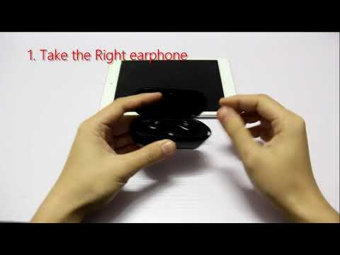 Borofone BE8 Bluetooth Wireless Connection Steps