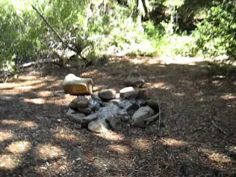 Upper Reyes Campground, Los Padres National Forest