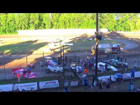 6 30 18 Cottage Grove Speedway Dash interviews