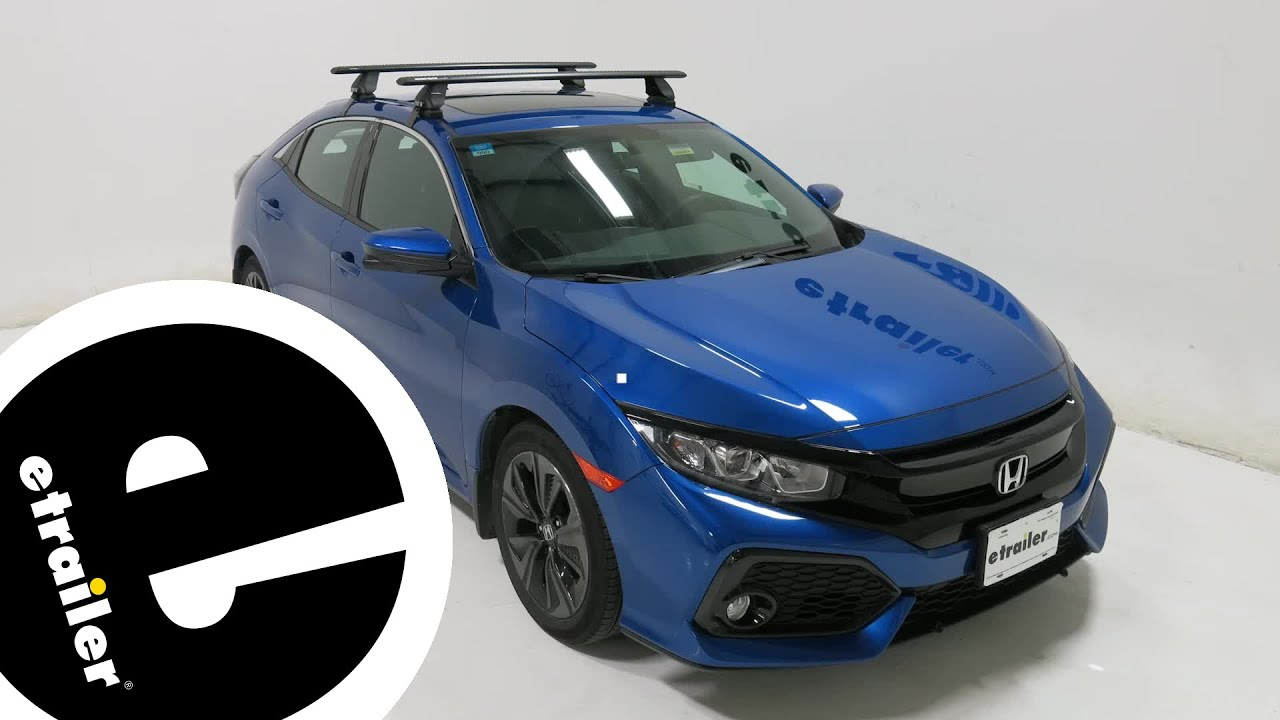 Rhino Rack Roof Rack Review 2017 Honda Civic Etrailer