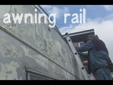 Awning Rail Part 1 Vintage Caravan Restoration Doing