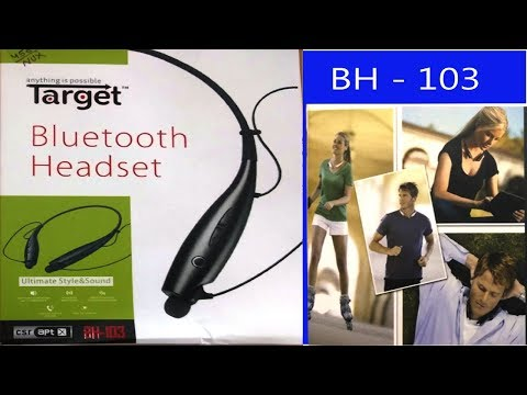 Unboxing Review Target Bluetooth Wireless Headset Youtube