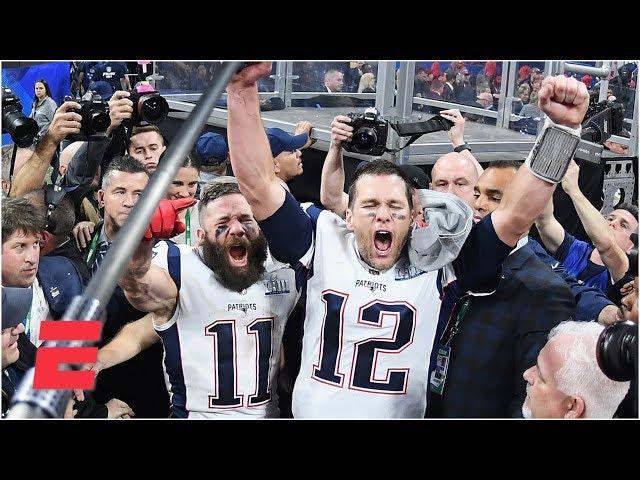 Tom Brady, Julian Edelman on Super Bowl LIII victory over Los Angeles Rams | NFL Sound