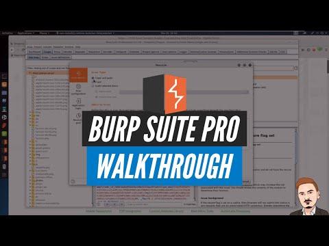 Burp Suite Pro Walkthrough