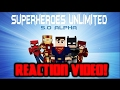 Minecraft SUPERHEROES UNLIMITED MOD 5.0 ALPHA | REACTION VIDEO!