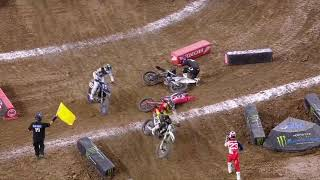 Supercross Round #1 450SX Highlights | Houston, TX, NRG Stadium | Jan 16, 2021 #supercross